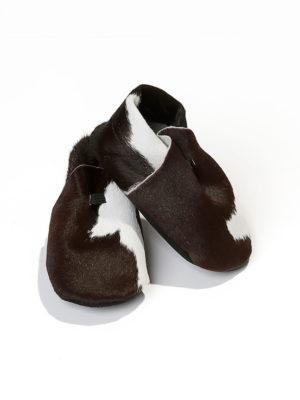 Baby sko i rent ku-skinn