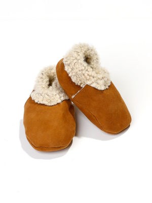 Baby booties lambskin – Salamanca