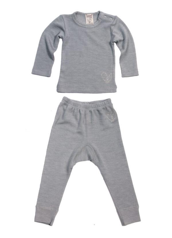 Langærmet-sæt-grey