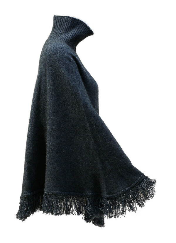 Poncho Bluewash